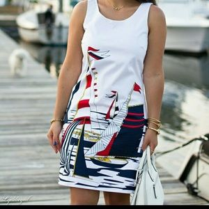 Banana Republic Sailboat dress